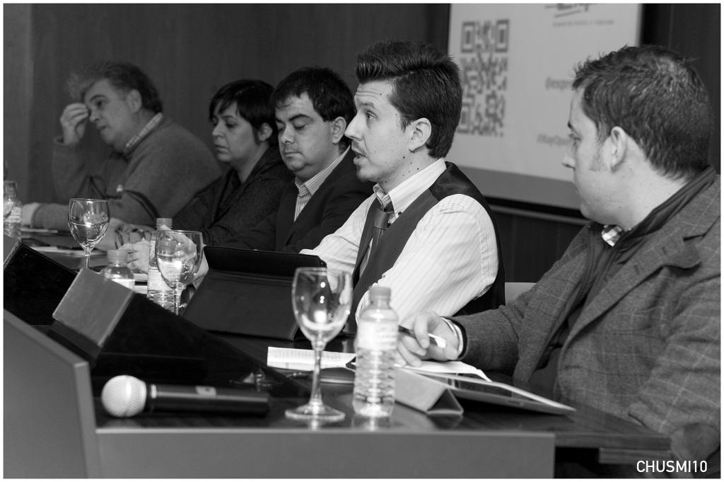 """Participando en las """"I Jornadas de Periodismo Emprendedor"""" que organizó la APV."""