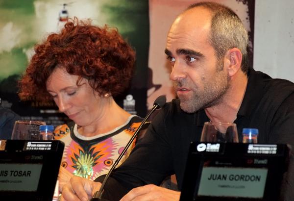 Icíar Bollaín y Luis Tosar en una pasada edición de Seminci.